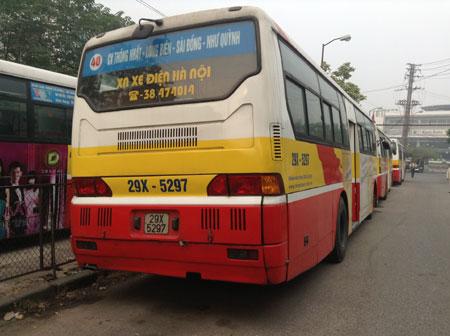 Lộ trình 5 tuyến xe bus từ Bến xe Mỹ Đình đến Siêu thị Rosa