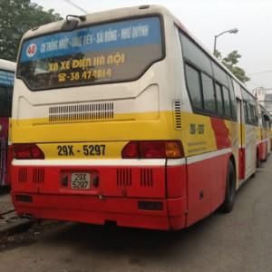 Lộ trình 5 tuyến xe bus từ Bến xe Mỹ Đình đến Siêu thị Metro