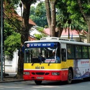 xe bus từ Bến xe Giáp Bát đến KĐT Pháp Vân