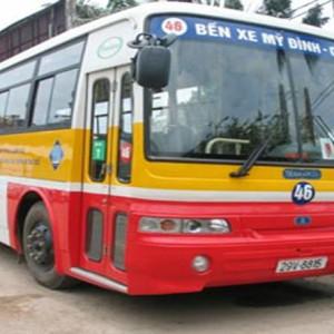 Lộ trình 5 tuyến xe bus từ Bến xe Mỹ Đình đến Trường cao đẳng ASEAN