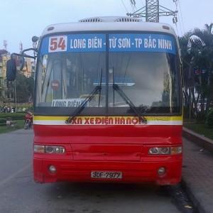 Lộ trình 5 tuyến xe bus từ Bến xe Mỹ Đình đến Bắc Ninh