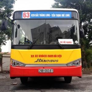 Lộ trình 5 tuyến xe bus từ Bến xe Mỹ Đình đến Tiến Thịnh Mê Linh