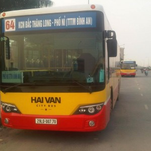 Lộ trình 5 tuyến xe bus từ Bến xe Mỹ Đình đến KCN Bắc Thăng Long