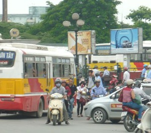 Lộ trình 5 tuyến xe bus từ Bến xe Mỹ Đình đến Bến xe Sơn Tây