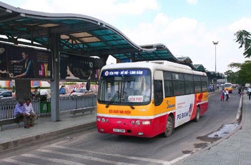 Lộ trình 5 tuyến xe bus từ Bến xe Giáp Bát đến Sân vận động Quốc Gia