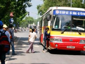 Lộ trình 5 tuyến xe bus từ Bến xe Giáp Bát đến Cầu Giẽ
