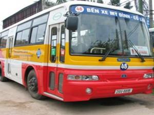 Lộ trình 5 tuyến xe bus từ Bến xe Mỹ Đình đến Bệnh viện 198 Bộ Công an