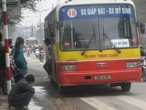 xe bus từ Bến xe Mỹ Đình đến bến xe Gia Lâm
