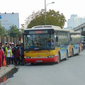 Lộ trình 5 tuyến xe bus từ Bến xe Mỹ Đình đến bệnh viện Bưu điện