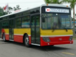 Lộ trình 5 tuyến xe bus từ Bến xe Mỹ Đình đến Siêu thị Big C Thăng Long