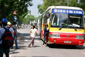 Lộ trình 5 tuyến xe bus từ Bến xe Mỹ Đình đến Đại học Hà Nội