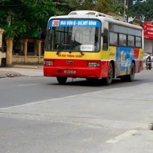 Lộ trình 5 tuyến xe bus từ Bến xe Mỹ Đình đến Chợ Đồng Xuân