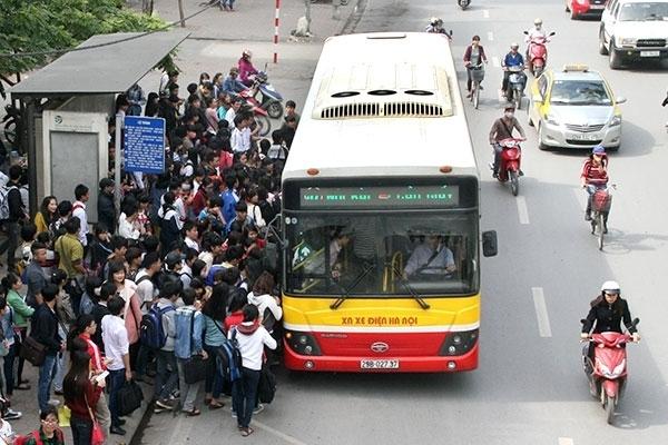xe bus từ Bến xe Giáp Bát đến Nam Thăng Long Hà Nội