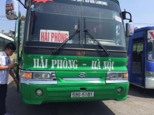 Các tuyến xe khách Hà Nội - Hải Phòng
