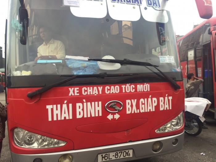 xe khách Thái Bình đi Hà Nội