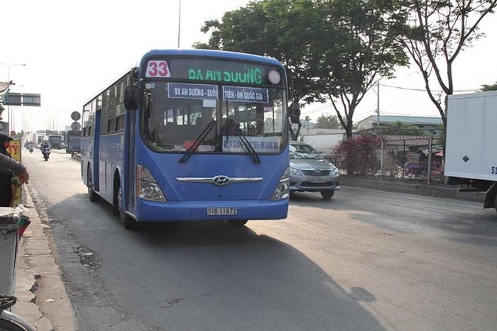 buýt sử dụng nhiên liệu sạch