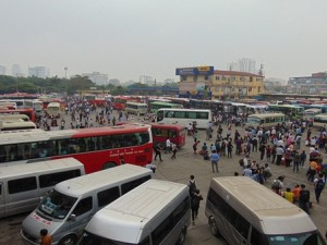 Bốn bến xe lớn nhất Hà Nội sẽ trở thành bãi đỗ xe