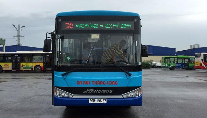 Thay xe mới cho tuyến buýt số 30